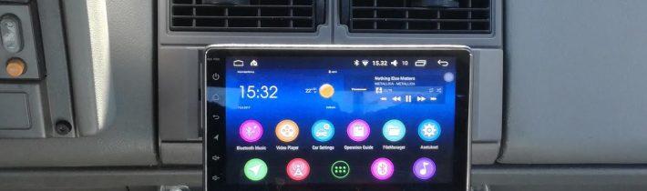 Quel style d'amplificateur utiliser pour l'autoradio 1 din android ?
